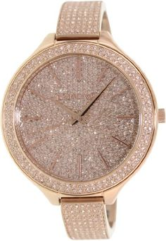 Michael Kors Runway Pink Crystal-set Dial Pink Gold-tone Ladies Watch MK3251 - http://www.specialdaysgift.com/michael-kors-runway-pink-crystal-set-dial-pink-gold-tone-ladies-watch-mk3251/
