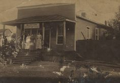 Post office Blocton, Bibb County, Alabama around 1890