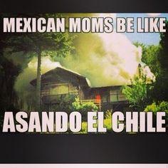 Sabías despejar la casa cada vez que ponía chile en el comal. | 28 cosas que quienes fueron criados por una madre mexicana saben que es cierto
