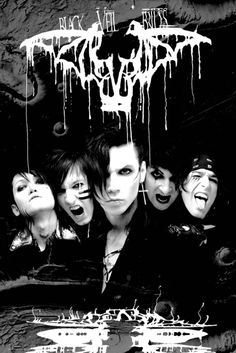 Black Veil Brides Darkest - Official Poster
