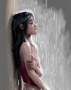 Ideas Drawing Girl Crying Sketches Sad Drawing Tips sad drawings Crying Girl Drawing, Cry Drawing, Drawing Rain, Anime Girl Crying, Sad Anime Girl, Sketch Drawing, Crying Girl Sketch, Sad Sketches, Sad Drawings