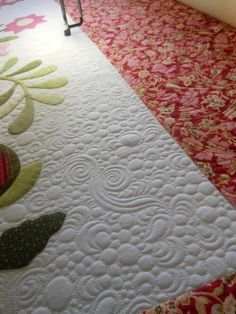 BEAUTIFUL quilting by Judi at Green Fairy Quilts