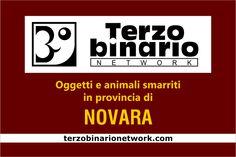 Oggetti e animali smarriti in provincia di Novara