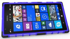 NOKIA LUMIA 1520 CASE, TPU PRIME DUAL LAYER COVER WITH KICKSTAND (PURPLE) | #cellphonegadgets #mobileaccessories www.kuteckusa.com