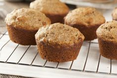 This easy buttermilk bran muffins recipe is made with All-Bran cereal and buttermilk. Buttermilk keeps these muffins moist. Serve for breakfast or brunch. Diabetic Bran Muffin Recipe, Simple Muffin Recipe, Muffin Recipes, Diabetic Recipes, Fast Recipes, Banana Nut Muffins, Bran Muffins, Breakfast Muffins, Scones