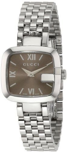 "Gucci Women's ""G-Gucci"" Stainless Steel Watch YA125516 - http://watchesntime.com/gucci-women-s-g-gucci-stainless-steel-watch-ya125516/"