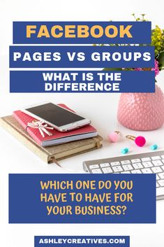 Do you need a Facebook page or a Facebook group for your business? What is the difference between the two? Which one will work best for your business? What do you post on a page vs in a group? Can you just put the same stuff on both? We answer all these questions and more! #facebook #socialmediatips #socialmediamarketing