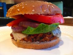 SOUTHWESTERN VEGGIE BURGER. A vegan alternative that is wheat-free, gluten-free, dairy-free and simply delicious.