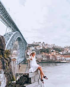 I spent quite some time thinking of an inspirational caption for this post but all I can think of is how tired and sore my legs and feet… Porto Portugal, Portugal Travel, Spain And Portugal, Best Places To Travel, Cool Places To Visit, Porto City, Morocco Travel, How To Pose, Wanderlust Travel