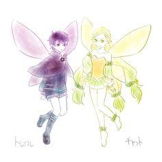 Tatle and Tael! (Art by 野苺バニラ)