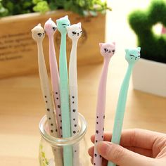 Kawaii Darling Cat Gel Pen $ 2.35