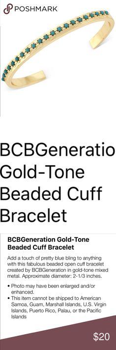 ❗️1 day Sale❗️BCBGeneration beaded Cuff bracelet👧 New with tag. BCBGeneration Jewelry Bracelets