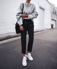 thestyle-addict  Fashion Must-Haves Black Trousers Outfit Casual e85e954a4
