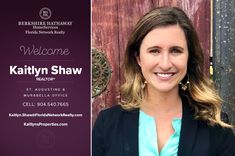 BERKSHIRE HATHAWAY HOMESERVICES FLORIDA NETWORK REALTY WELCOMES KAITLYN SHAW