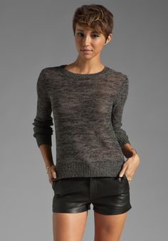360 SWEATER Zola Sweater in Carbon #MustHave