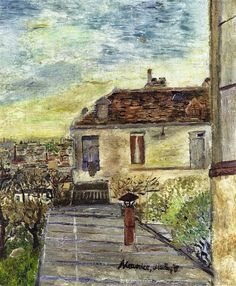 Maurice Utrillo (1883 - 1955) The Chaudoin House, 1906