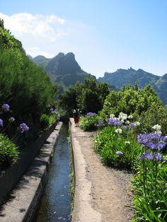 Levadas ; Encumeada ; Madeira ; Portugal ;