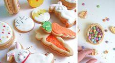On fait des sablés piñata pour Pâques ! Menu, Sugar, Cookies, Desserts, Creema, Menu Board Design, Crack Crackers, Tailgate Desserts, Deserts