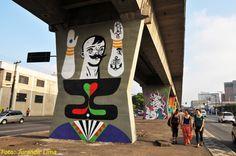 1º Museu Aberto de Arte Urbana - São Paulo - Brazil | Flickr