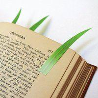 Grassy Page Markers by yuruliku - $16