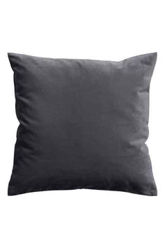 Velvet cushion cover: Cushion cover in cotton velvet with a concealed zip.