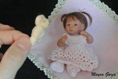 Art doll by Mayra Garza
