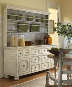 Hmmm...wonder if we could try to transform our old dresser into something like this???   Sag Harbor Sideboard | Somerset Bay