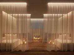 Yabu Pushelberg, The Miami Beach Edition, Spa Relaxation Room | luxury boutique hotel
