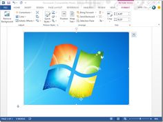 How To Take Screenshots With MS Word 2013