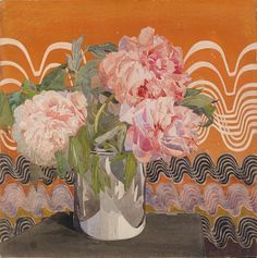 Charles Rennie Mackintosh - Peonies The magic of geometric Art Nouveau - why are the Scots so good at watercolor? Charles Rennie Mackintosh, Art Nouveau, Arts And Crafts Movement, Art Floral, Botanical Illustration, Illustration Art, Couleur Rose Pale, Glasgow School Of Art, Illustrations
