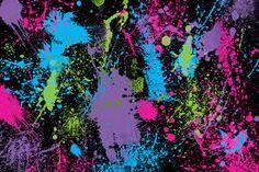 abstract splatter art - Google Search