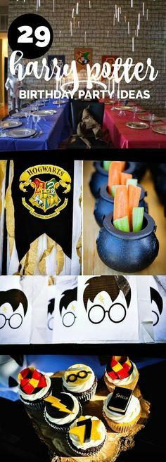29 Creative Harry Potter Party Ideas Your Little Harry Potter Will Love!
