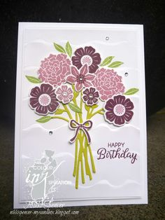 Colour INKspiration #13 #beautifulbouquet #stampinup