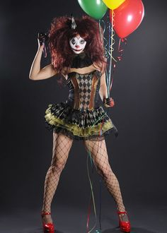 sexy clown costume - Google Search