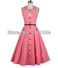 adc0f16ed9a42  34.65 - 50 S Rockabilly Dress Vintage Style Dress Plus Size Rockabilly
