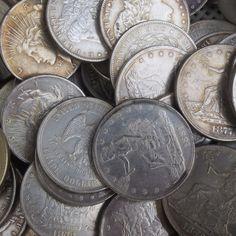 US Full Set 96pcs Morgan dollar,25pcs Peace Dollar,46pcs Seated Liberty Silver and 25pcs Trade Dollar (192pcs) Copy Coins