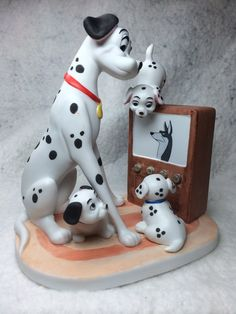 "The Disney Collection, Grolier, Magic Memories ""101 Dalmations"" Original Figurine Designed By The Walt Disney Artists, Mint on Etsy, $39.95"