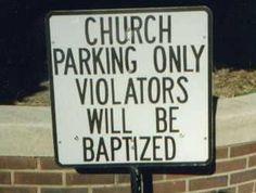 Gotta love a church with a sense of humor.