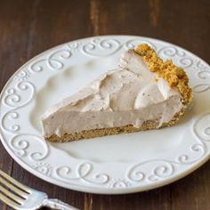 Chocolate Cream Pie with a Graham Cracker Crust via @culinaryhill