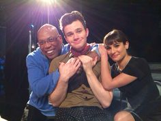 Lea & Chris | Glee 100