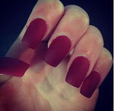 My nails at the moment