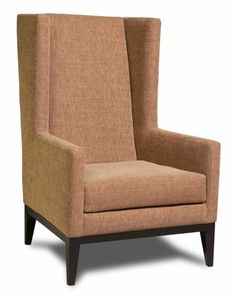 Gorgeous McCartney Chair - fab in various colours too, high back modern accent wing chair