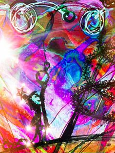 André Barnard Art When His light starts shining over you, in you and through you...