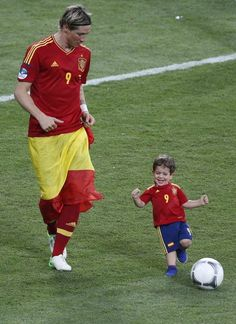 Torres.. Best dad ever!