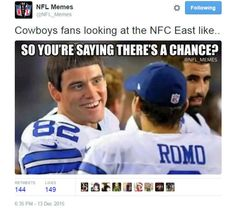 Check out the best NFL memes from week 14 Nfc East, Nfl Memes, Texans, Cowgirls, Dallas, Football, Baseball Cards, Facebook, Sayings