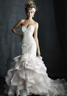 Allure Couture C389 Wedding Dress photo