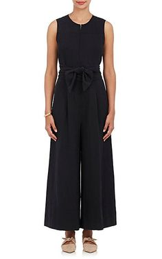 Ulla Johnson Cunningham Twill Belted Jumpsuit - Dresses - 505216846