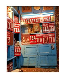 India ~ I'm not sure, but I think they sell Tea here...