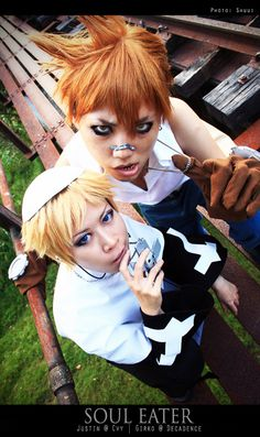 From Soul Eater   Justin Law and Jeriko Cosplay