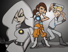 Portal 2 - Kim Possible by CodyNaomiSwire.deviantart.com on @deviantART